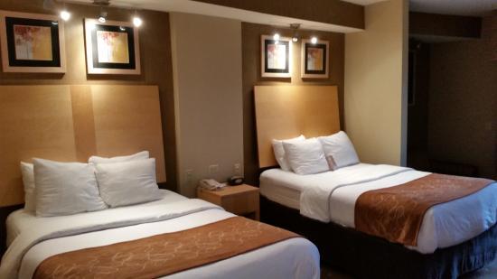 Comfort Suites : beds