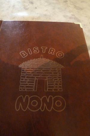 Menu Picture Of Pizzeria Nono Porec Tripadvisor