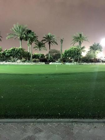 Doha Golf Club: Practice range