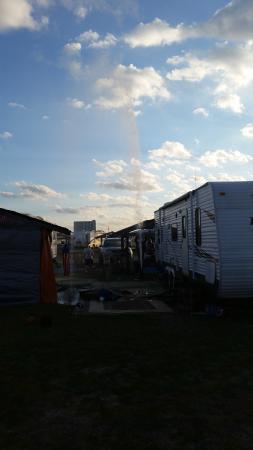 Pirateland Oceanfront Campground: plumbing failed as well