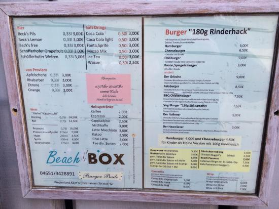 Westerland, Germany: Beach Box