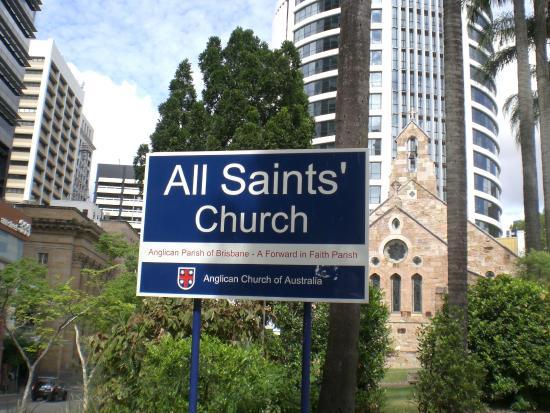 Anglican All Saints Church: Sign