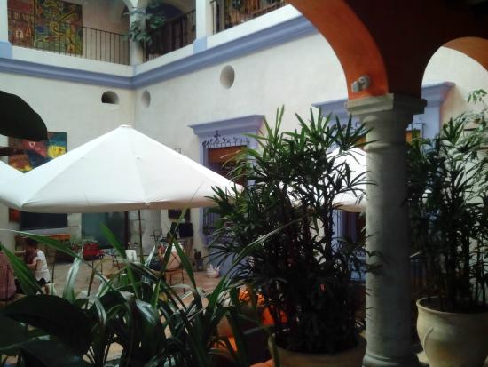 Hotel Trebol: Aquí se sirve el desayuno