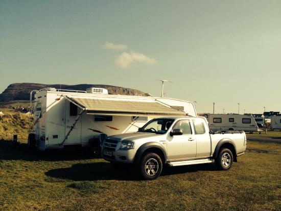 Strandhill Caravan and Camping Park: The mobile kingdom at strandhill :-)