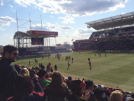 Toyota Park (Bridgeview Stadium): view of the field