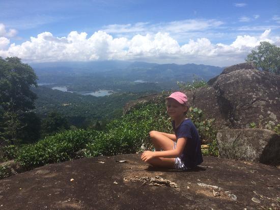 Makuldeniya, Sri Lanka: Views of the Knuckles