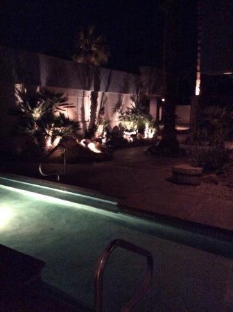 Inn Exile: Courtyard At night