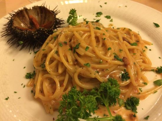La Romantica: Spaghetti al riccio