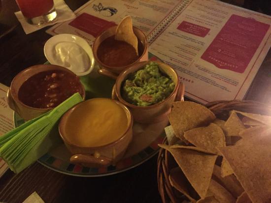 Iguana: Salsas, Guac, and Queso