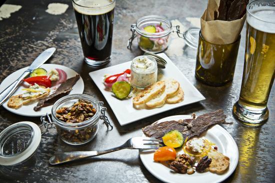B&O American Brasserie: Assorted Snacks