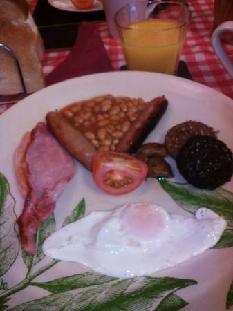 Inn on the Liffey: desayuno