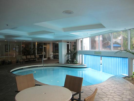 Indoor Pool Picture Of Embassy Suites By Hilton Orlando Lake Buena Vista Resort Orlando