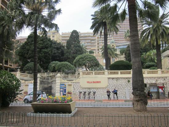 La Condamine, Monaco: Außenansicht Villa Sauber