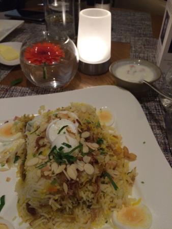 Jumeirah Lowndes Hotel: Dinner  (beriani)