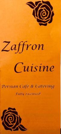 Zaffron Cuisine: Zaffron
