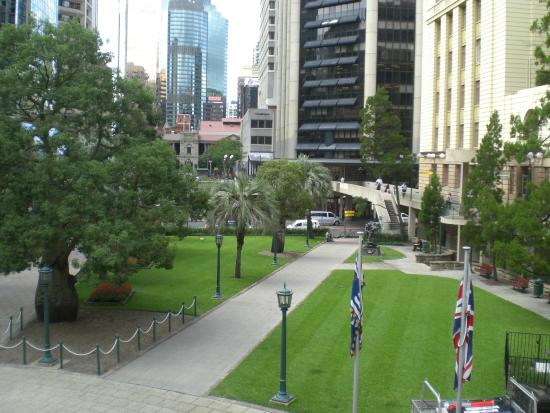 View of the Anzac Square