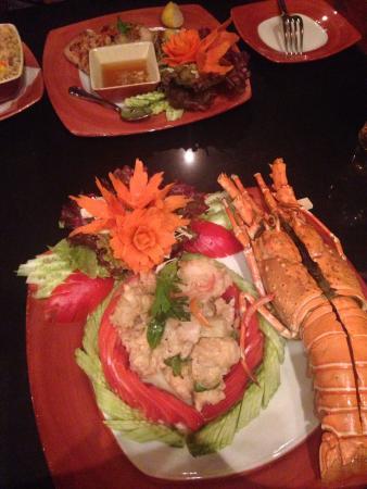 Thai Garden: Green Curry Lobster