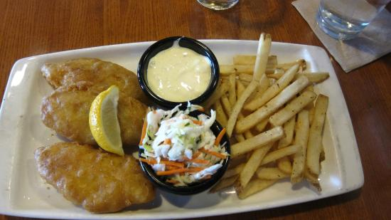 Applebee's: Fish and chips