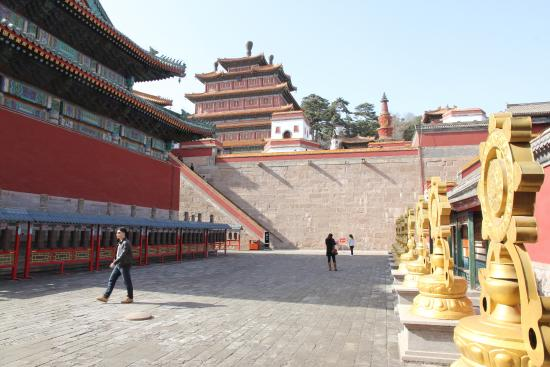 Temple of Universal Peace (Puning si) : Chengde Puning Si