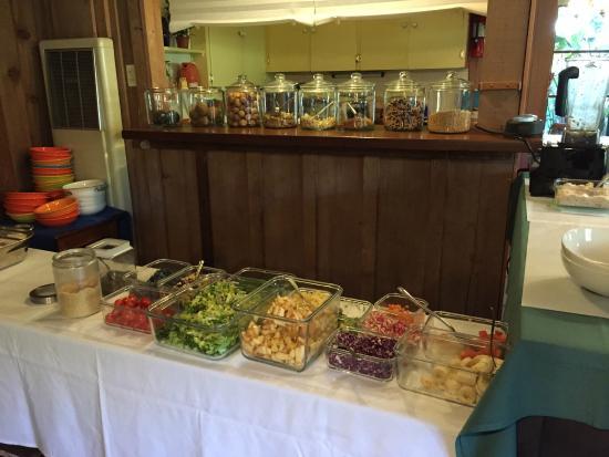 Carmel Valley Lodge : Vegan breakfast