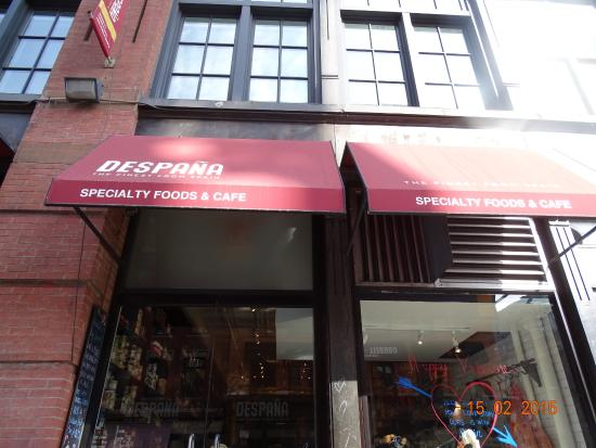 Photo of Mediterranean Restaurant Despana Speciality Foods & Cafe at 408 Broome St, New York, NY 10012, United States