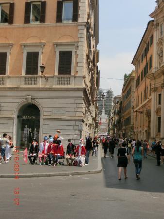 Foto de via del corso roma flagrante tripadvisor for Corso arredatore d interni roma