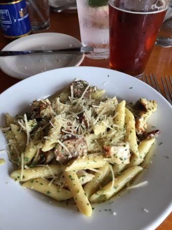 Penne Pasta with Chicken and Sausage