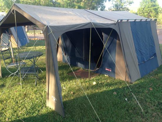 El Questro The Station : ELQ on-site tents