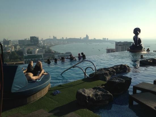 Infinity Pool At Roof Top Picture Of Siam Siam Design
