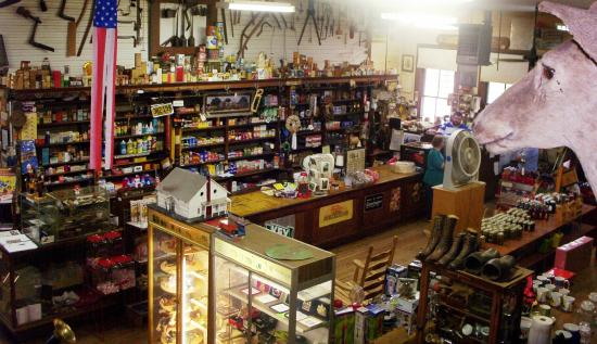 T. C. Lindsey and Co. General Store: View from the loft.