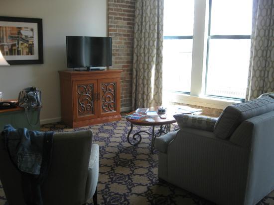 kitchen area in suite picture of wyndham la belle maison. Black Bedroom Furniture Sets. Home Design Ideas