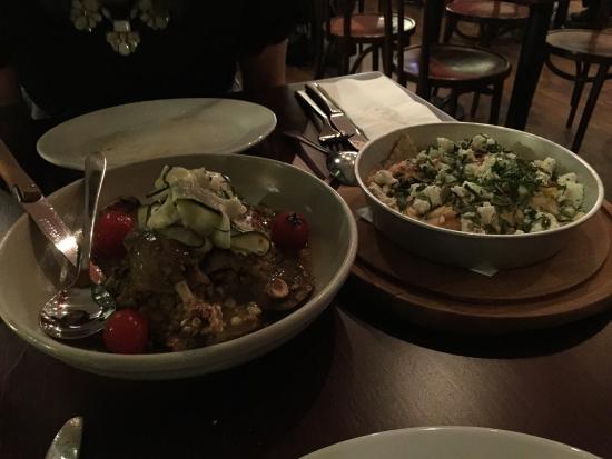 Andre's Cucina and Polenta Bar: Confit duck leg and pumpkin and potato ravioli. Sublime.