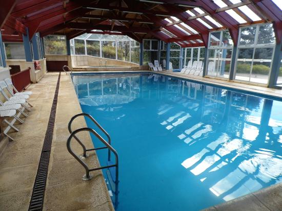 Rupu Pehuen Resort : piscina climatizada