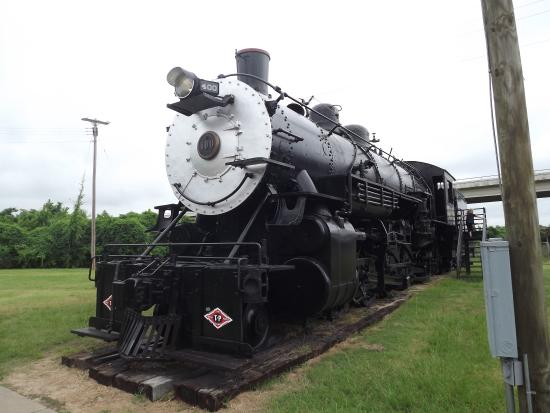 Marshall, TX : Train museum
