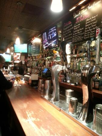 Food menu board picture of o 39 brien 39 s irish pub for Food bar new york city