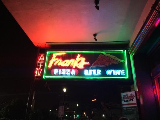 Frank's Pizza: De las mejores pizzas que he probado en USA.