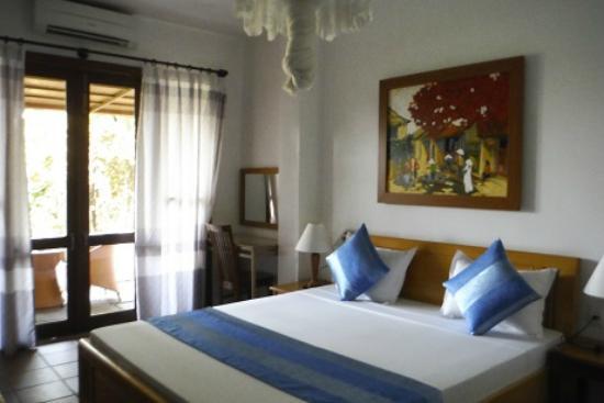 Thien Nga Hotel: 301号室 ベランダ付き