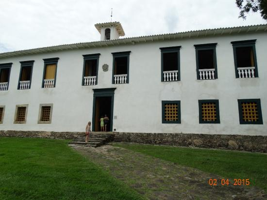 Museu das Bandeiras: Fachada do Museu