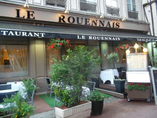 restaurant le rouennais photo de restaurant le rouennais rouen tripadvisor. Black Bedroom Furniture Sets. Home Design Ideas