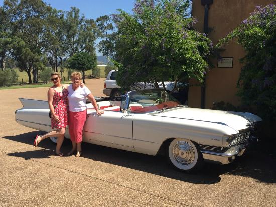 Touring the Hunter with Hunter Valley Cadillacs