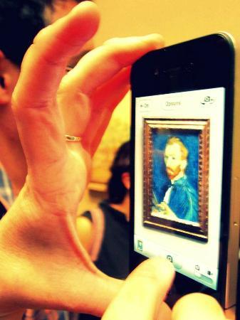 Galería Nacional de Arte: Van Gogh - Self portrait
