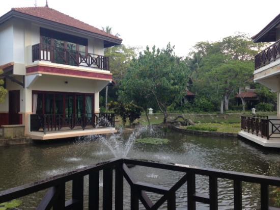 Nirwana Gardens - Banyu Biru Villa : View from master bedroom -Villa: Suria 2-