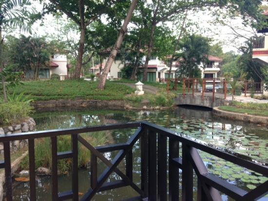 Nirwana Gardens - Banyu Biru Villa : Balcony view -Villa: Suria 2-