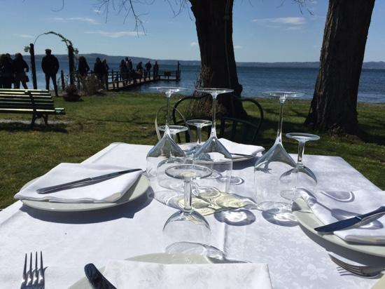 Best Restaurant on Lake Bracciano - Review of L\'Acquarella ...