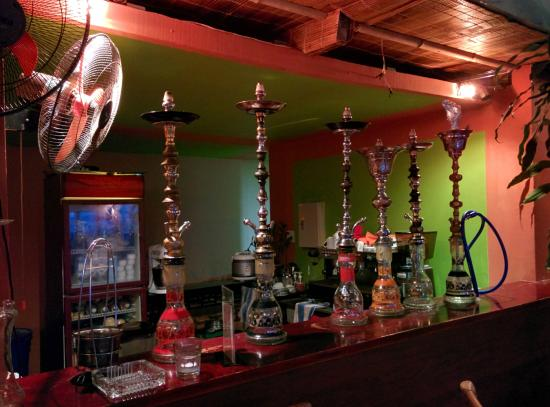 The Rooftop Lounge: Hookahs!