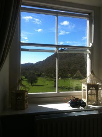 Tal-Y-Bont Country House B&B: Great view from the family room