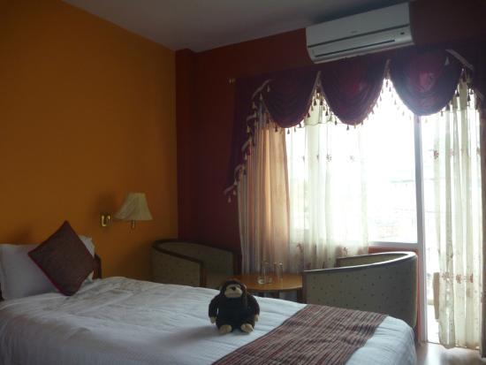 Kathmandu Prince Hotel : The room