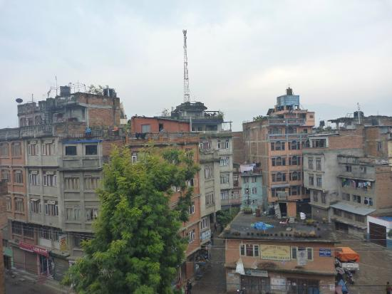 Kathmandu Prince Hotel : View from balcony to the left