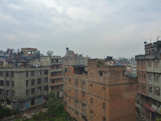 Kathmandu Prince Hotel : View from balcony