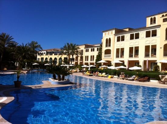 Steigenberger Golf & Spa Resort Camp de Mar : Poolblick